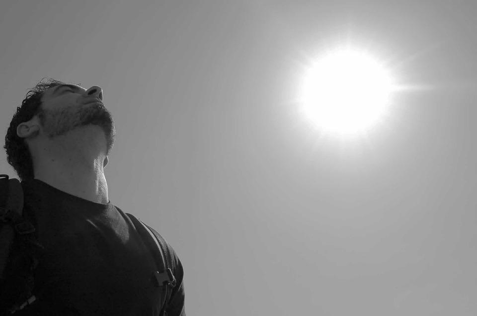 Hemel, Sun, Zwart Wit, Ademhaling, Excursie, Mediteren