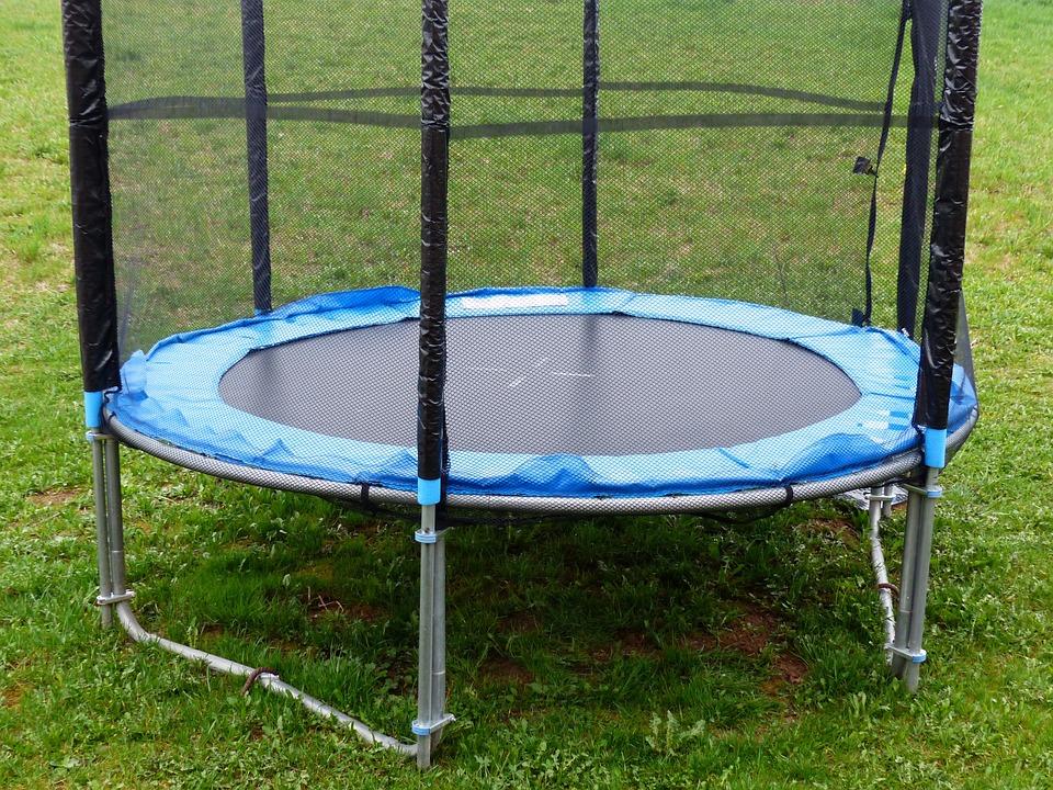 Trampoline, Sports Equipment, Sports, Leap, Safety Net