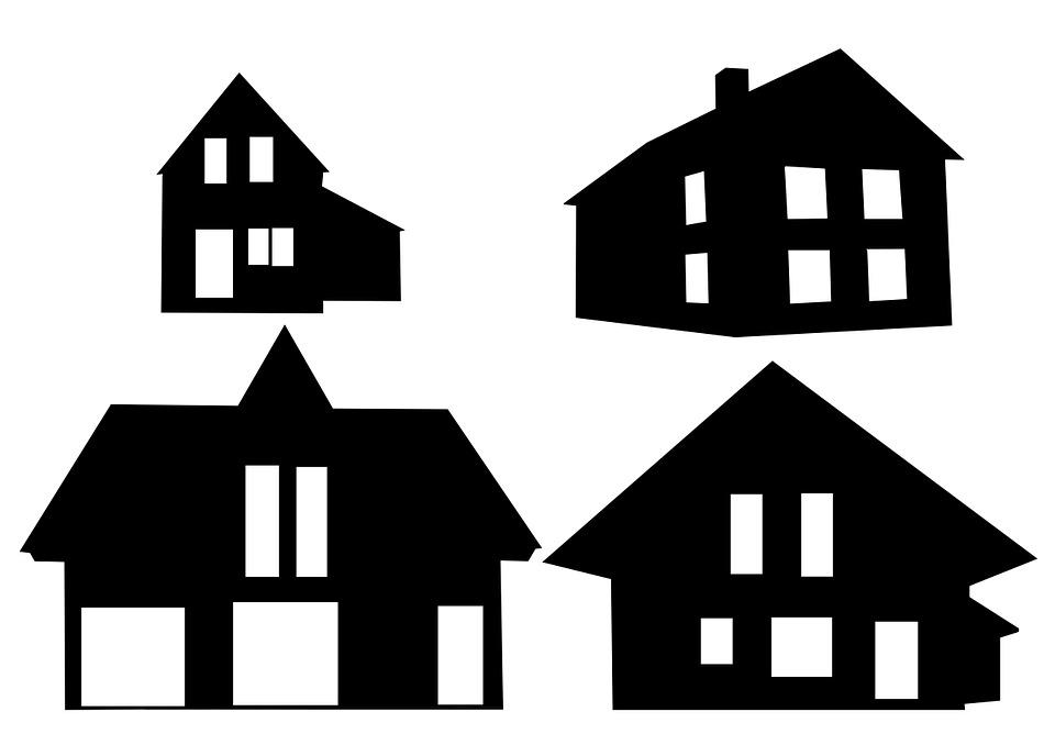 Haus Häuser Silhouette · Kostenloses Bild auf Pixabay