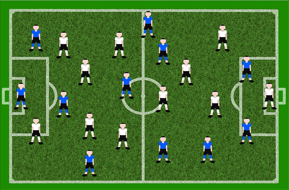 Por Qué Se Juega Al Fútbol Con 11 Jugadores Por Equipo: Fútbol Campo De Juego Jugadores · Imagen Gratis En Pixabay