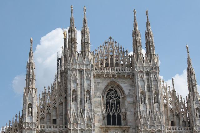 Kostenloses foto mailand dom architektur milano - Architektur gotik ...