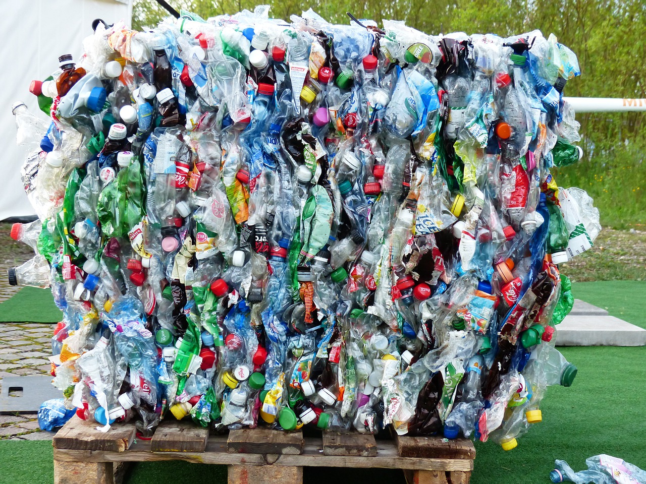 Plastikflaschen, Flaschen, Recycling, Umweltschutz