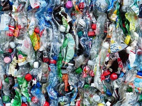 Plastikflaschen, Flaschen, Recycling