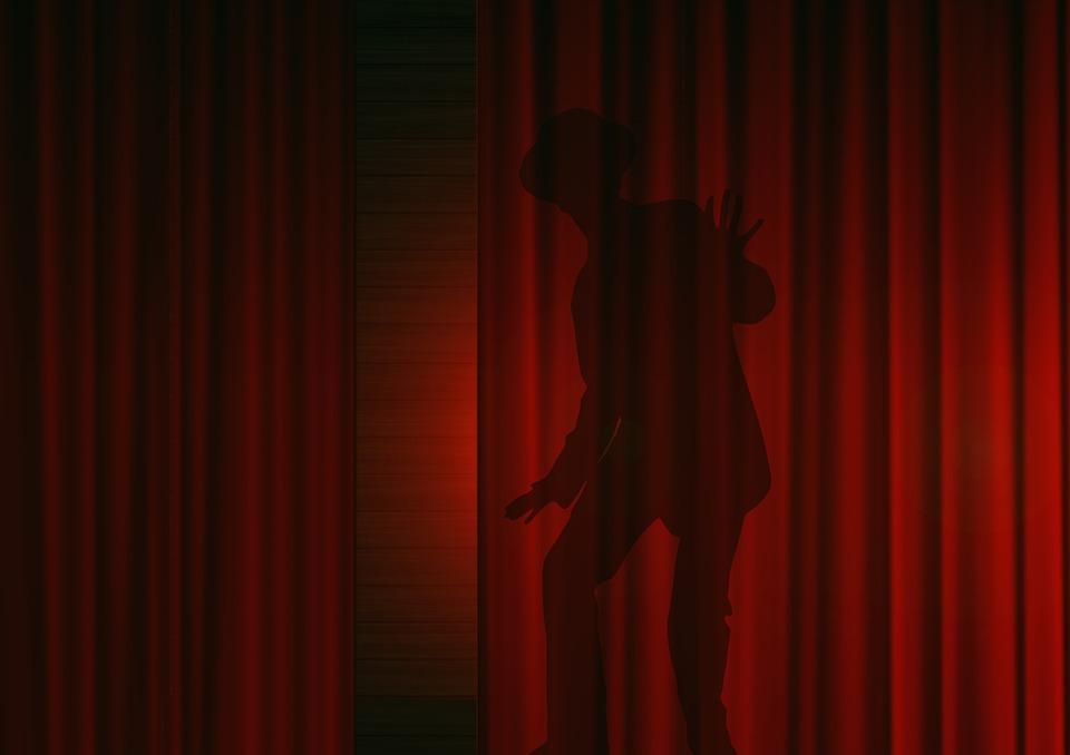 Man Silhouet Gordijn · Gratis afbeelding op Pixabay