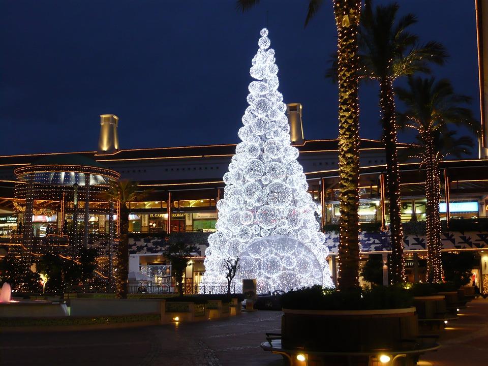 foto gratis: natale, illuminazione - immagine gratis su pixabay ... - Illuminazione Alberi Natale