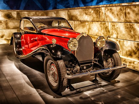Bugatti, 1932, Car, Automobile, Vehicle