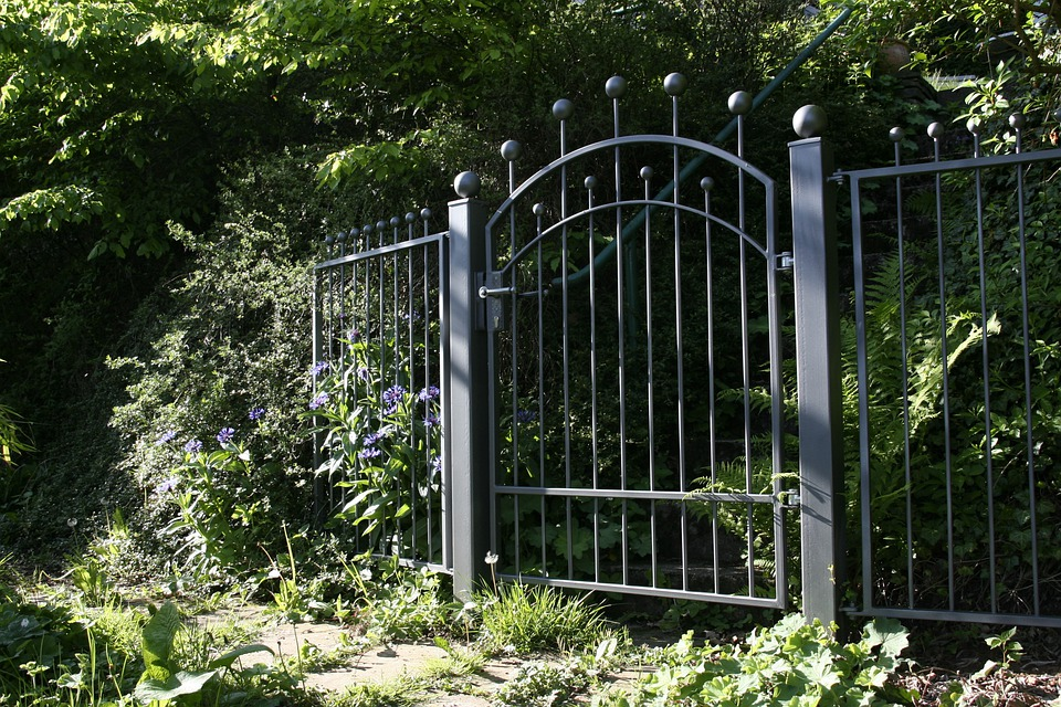 Garden Gate Garden Fence