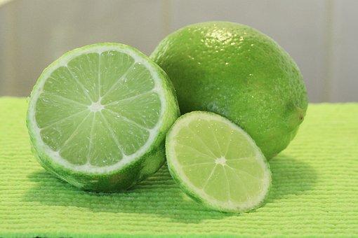 Lime, Citrus Aurantiifolia, Fruit