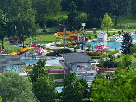 Water Slide, Leisure Pool, Water Park