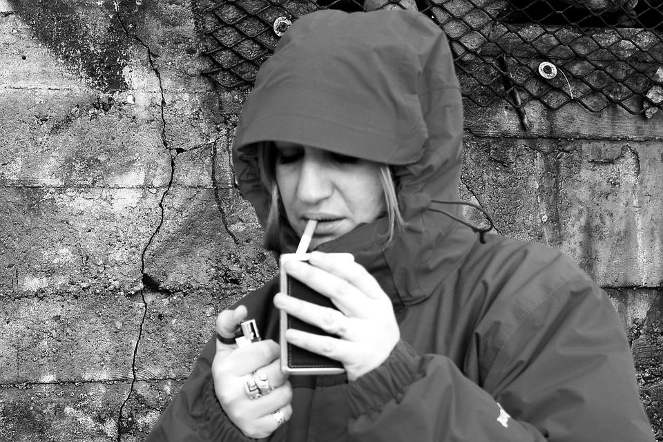 Dievčatá na fajčenie