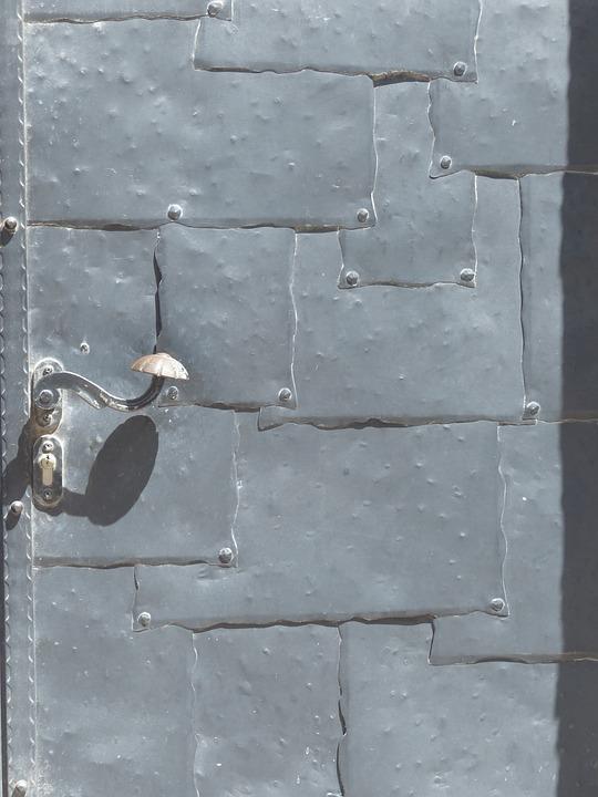 Tür metall  Kostenloses Foto: Tür, Metall, Schutz, Wehrtor - Kostenloses Bild ...