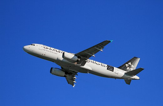 Aircraft Take Off Air New Zealand Airbus A