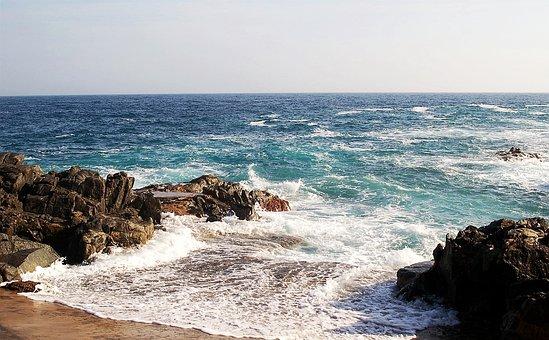 Costa Brava, Mer, Méditerranée, Bleu