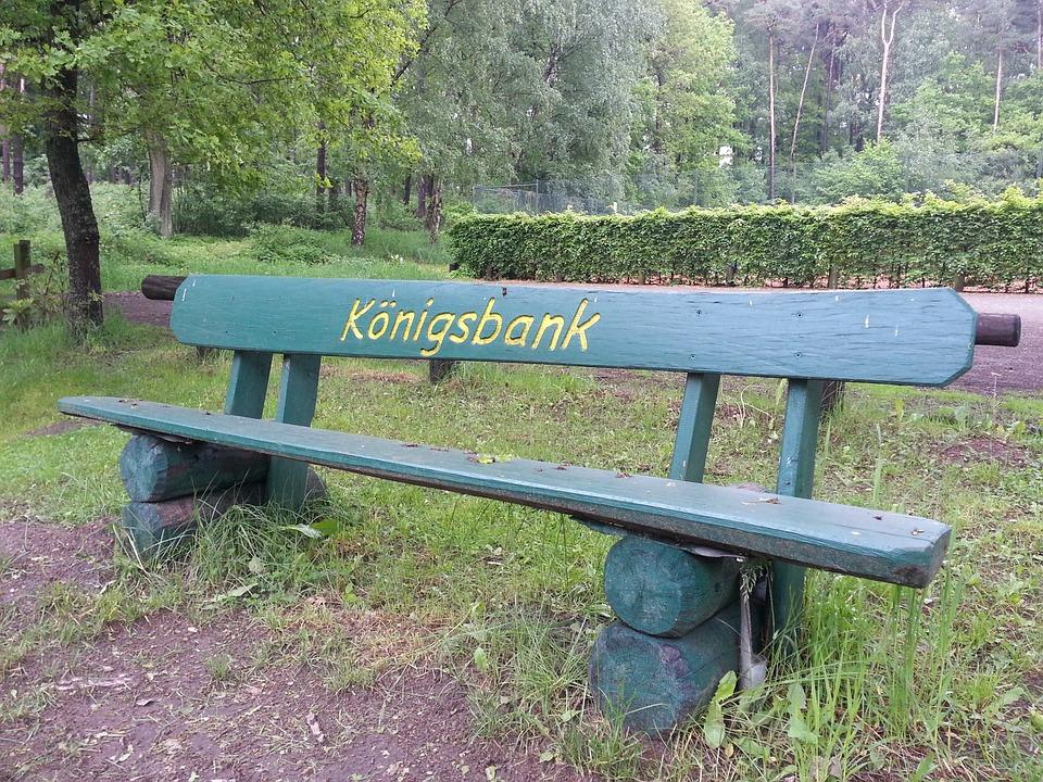 Garden Bench Bank Rest Park Sit Garden King Bank