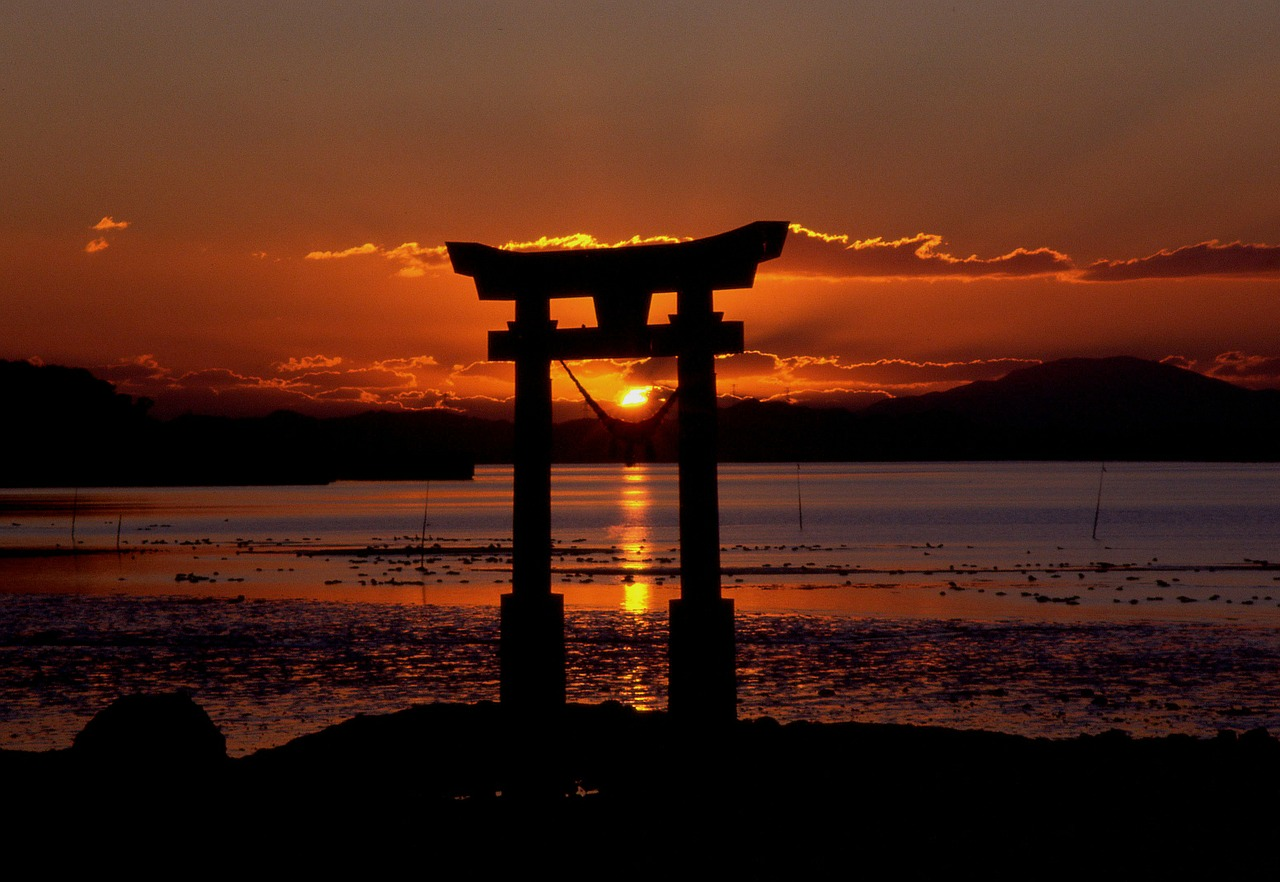 всего фото японского моря закат фото для будущего