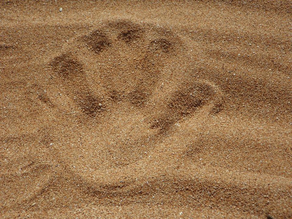 sand beach reprint free photo on pixabay