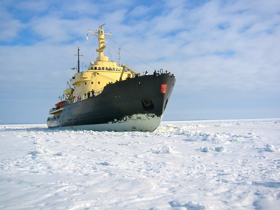 Lodołamacz, Zatoki Botnickiej, Mer De Glace, Śnieg