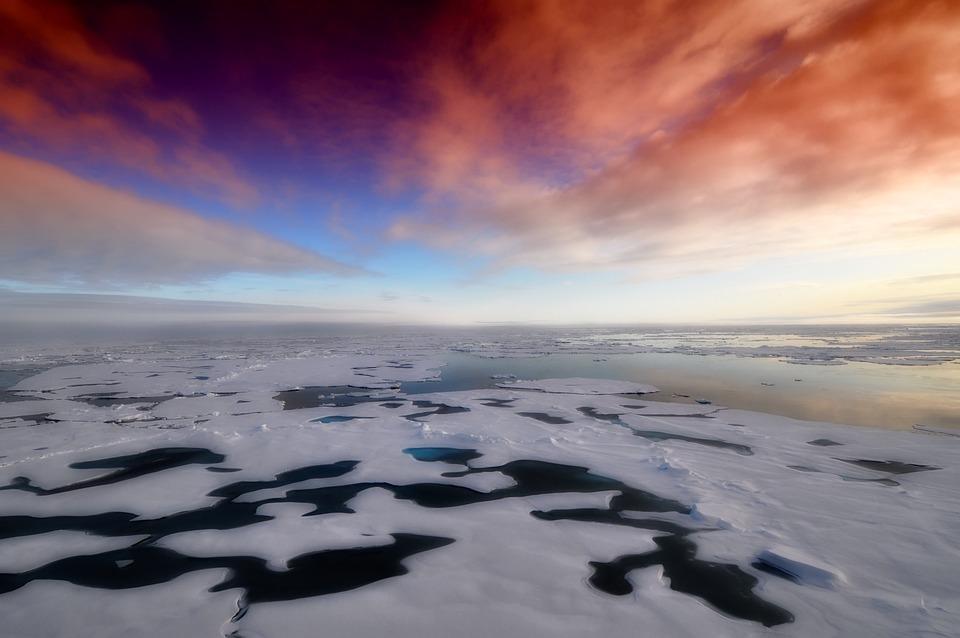 Arctic, Deniz, Ocean, Su, Antarktika, Kış, Kar, Buz