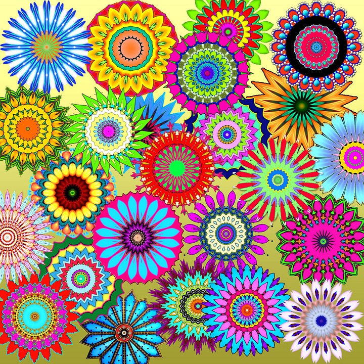 Free illustration: Patterns, Kaleidoscopes, Colorful