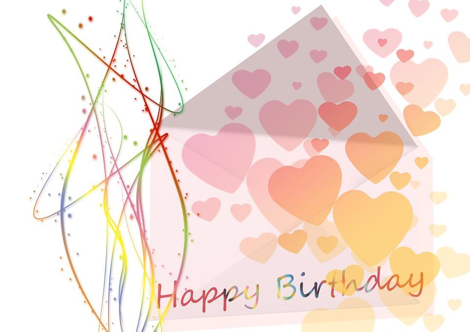 Geburtstag Gluckwunsch Herzen Kostenloses Bild Auf Pixabay