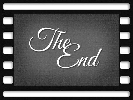 End, Guy, Cinema Strip, Movie, Film