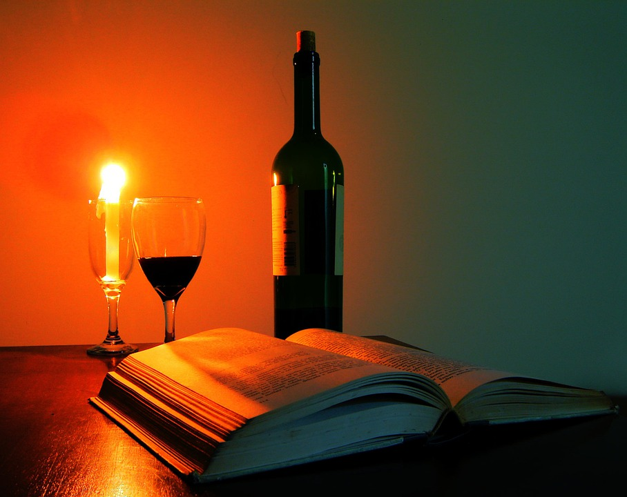 Glass Of Wine Book 183 Free Photo On Pixabay