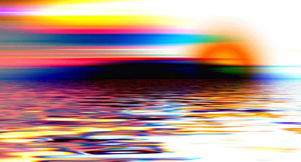 Lago, Mare, Acqua, Onda, Tramonto, Bello, Cielo, Ancora