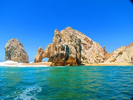 El Arco Cabo Mexico Beach Ocean Sky Water