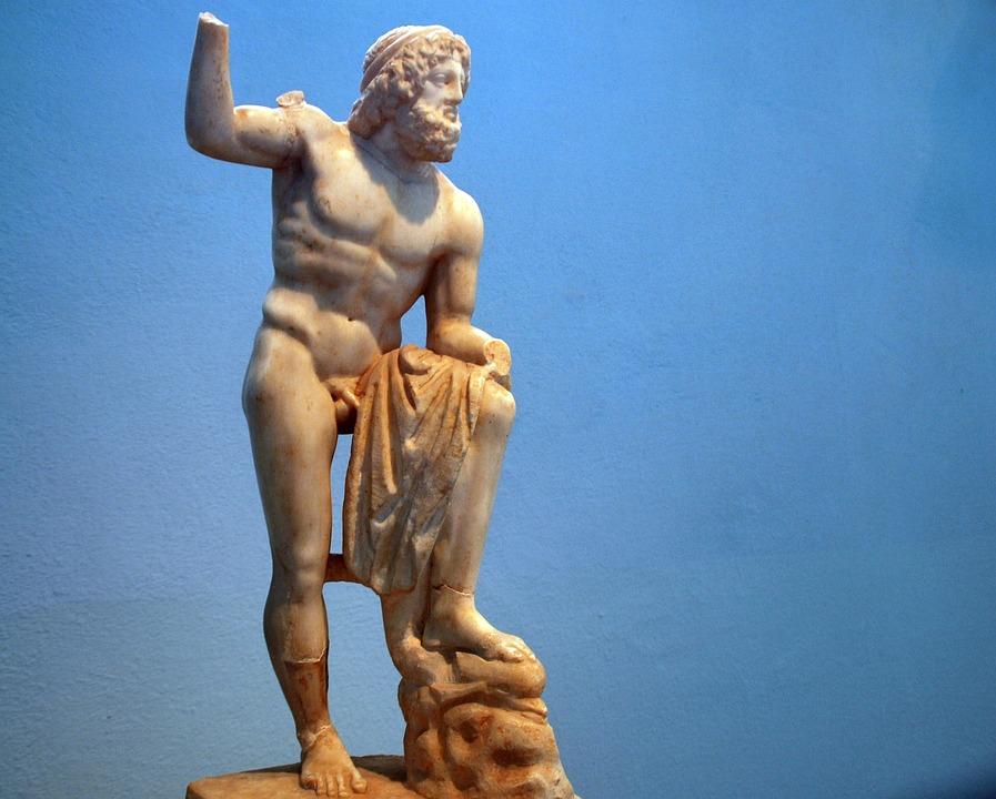 греческих фото скульптуры богов