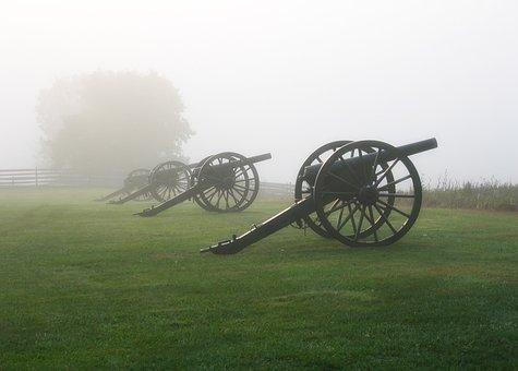 Antietam, Maryland, Cannon, Battlefield