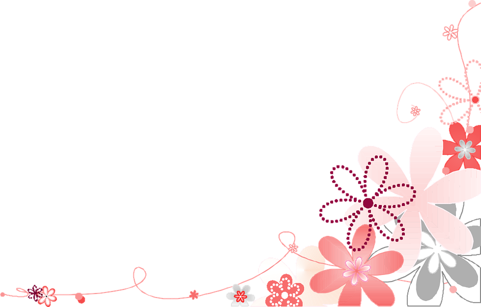 Pink flower flowers free vector graphic on pixabay pink flower flowers white background gray corner mightylinksfo