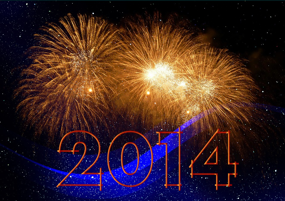 Sylvester, Neujahr, 2014