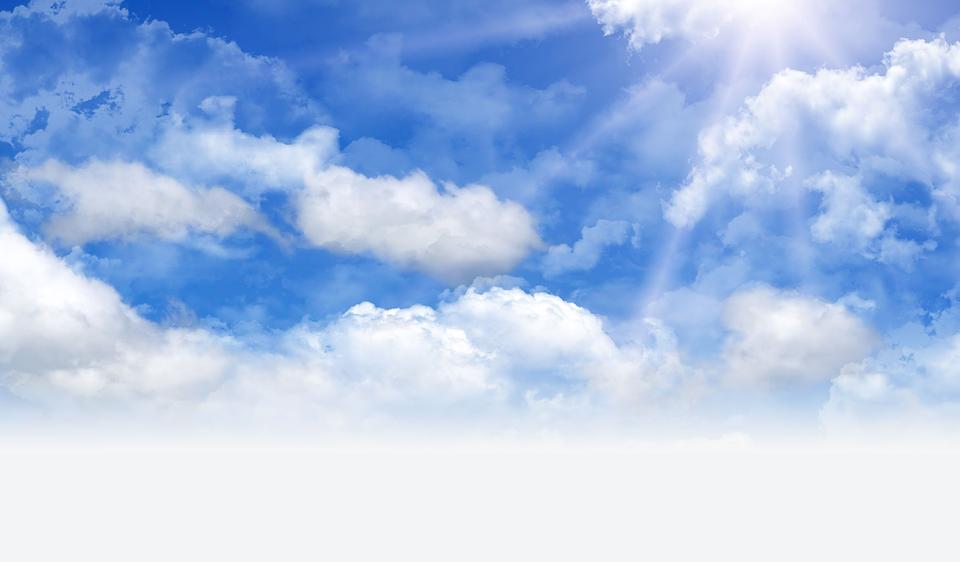 Fotos E Imagenes Cielo Azul Con Nubes: Día Cielo Nube · Imagen Gratis En Pixabay