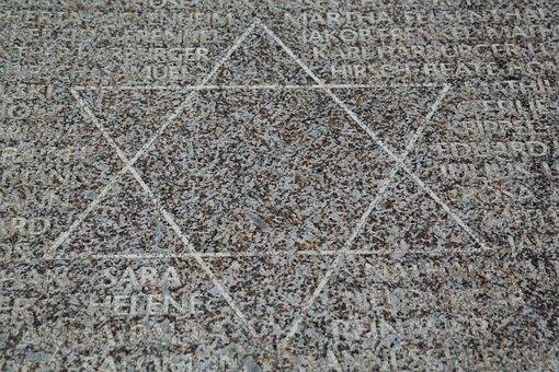 Star Of David, Memorial Stone, Ulm