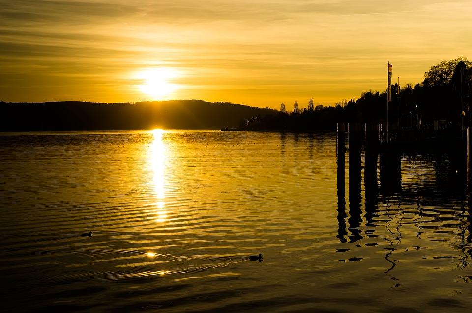 Sunset Yellow Sun Free Photo On Pixabay