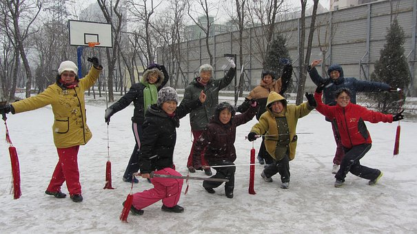 北京, 高齢者, 生活, 運動, スポーツ