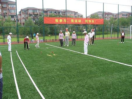 上海, クロケット, 高齢者, コミュニティ, スポーツ