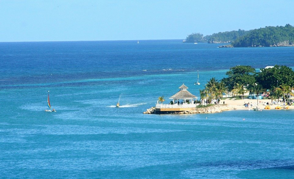 Vacations, Tropical Holiday, Sea, Ochos Rios, Jamaica