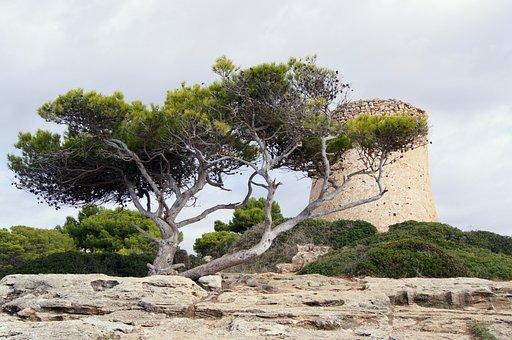 Geschichte Mallorcas - Wachturm