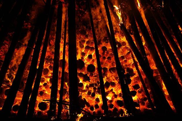 Embers Glow Wood 183 Free Photo On Pixabay