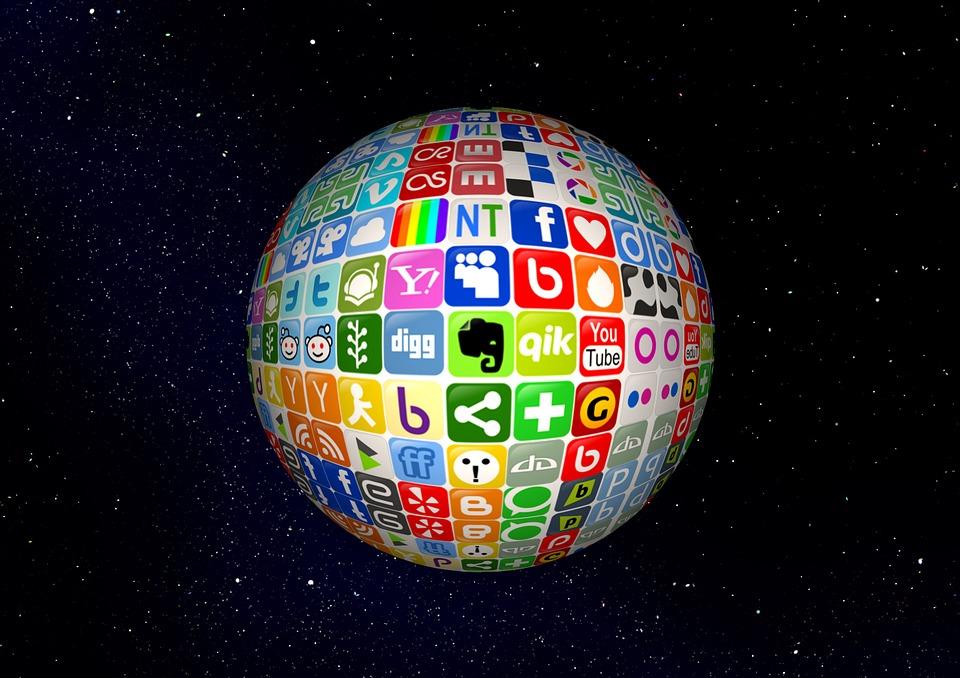 Ball, Networks, Internet, Network, Social