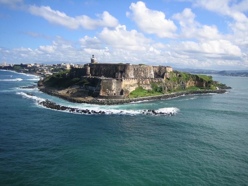 Portoryko, Zobacz, Ocean, Błękitne Niebo, Karaiby