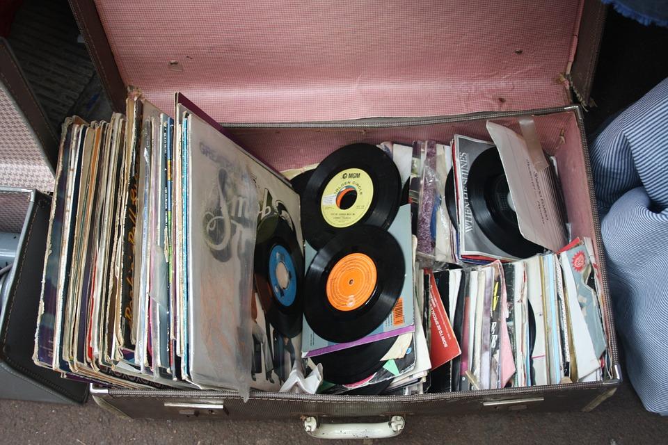Records Antique Music Nostalgic Collectible Retro
