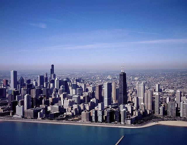 Free Photo Chicago Illinois City Cities Free Image