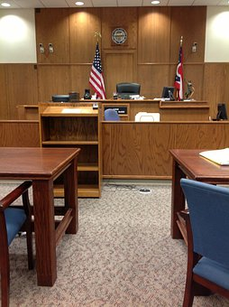 Courtroom, Court, Courthouse