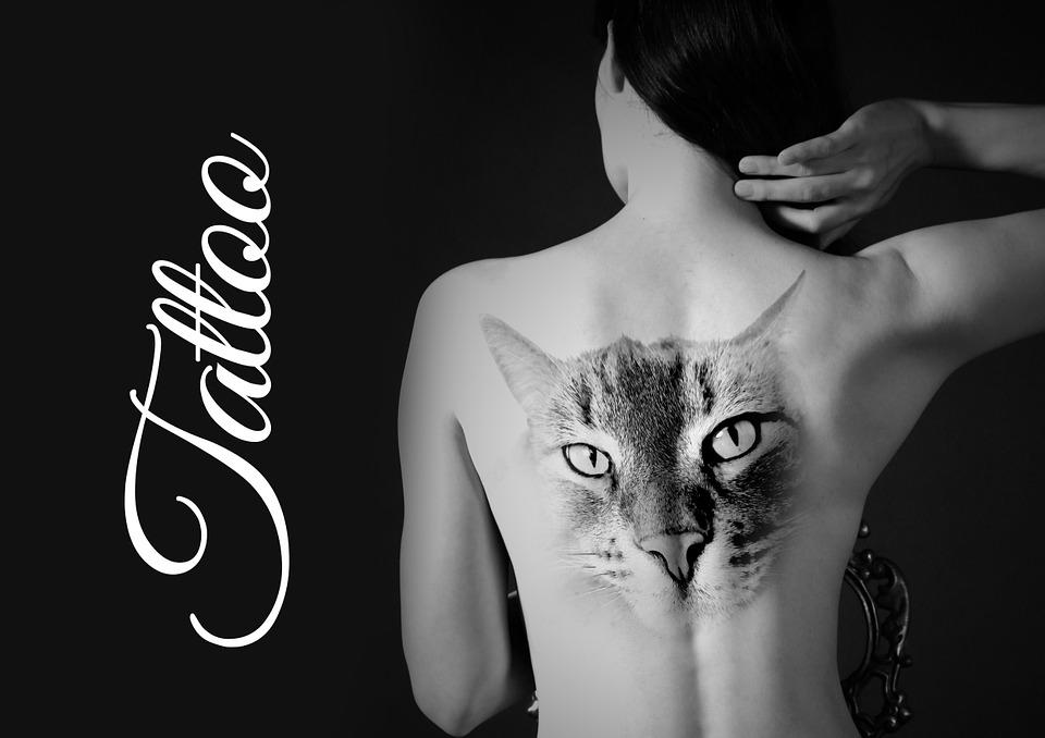 Frau Rücken Tattoo Kostenloses Bild Auf Pixabay