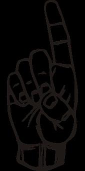 指, 注意, 手, No の記号, ポインティング, ボス, マネージャー