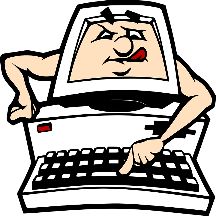 Computer pc cartoon free vector graphic on pixabay for Desktop animato