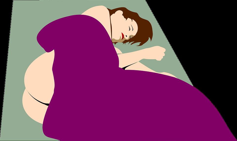 Naakt, Naakte, Mensen, Vrouw, Erotisch, Slapen