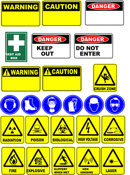 Danger, Signs, Safety, Symbols, Warning